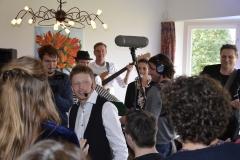 Televisie opnames voor 'Van Harte' NPO 2